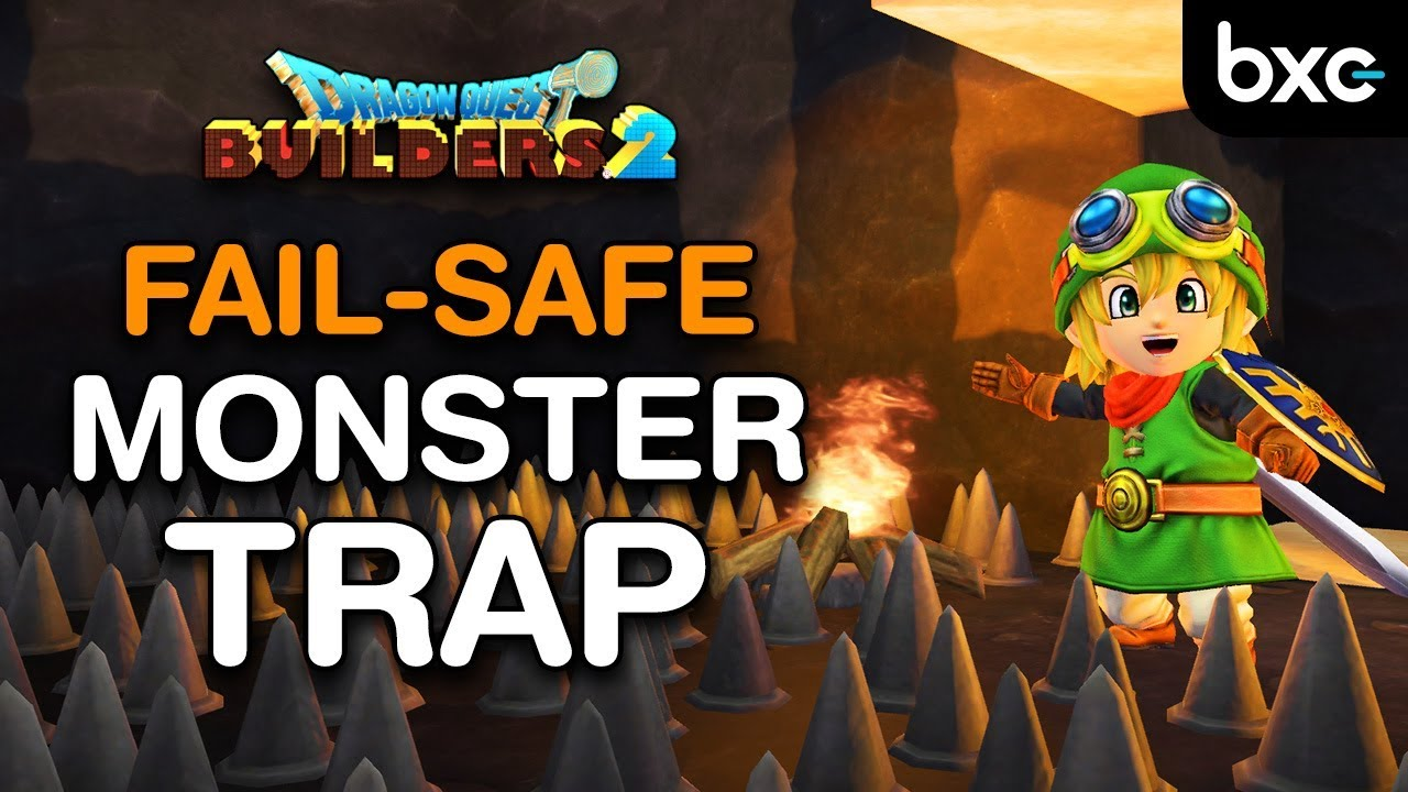Dragon Quest Builders 2 Monster Recruitment Guide: FAIL-SAFE Monster Trap (fastest & Easiest)