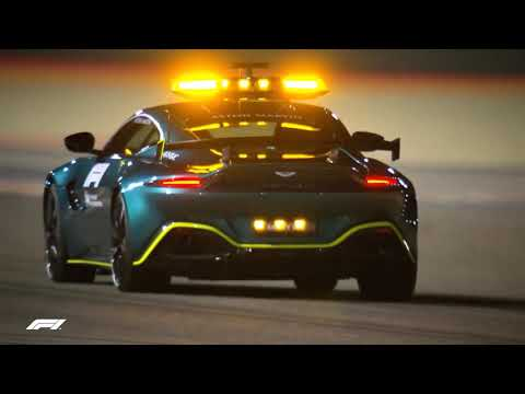F1 2021 Aston Martin and Mercedes-AMG Safety Car Hit the Track