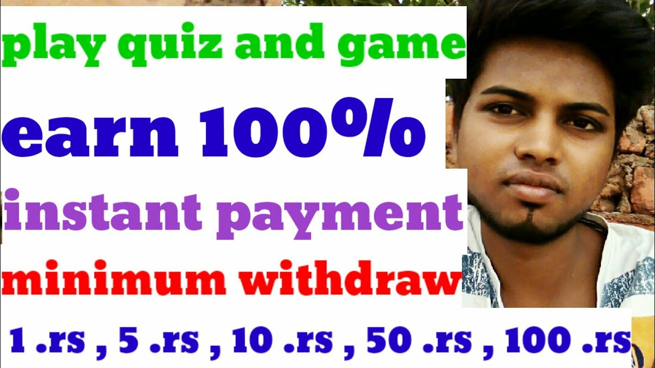 Play Game And Earn Money Without Investment