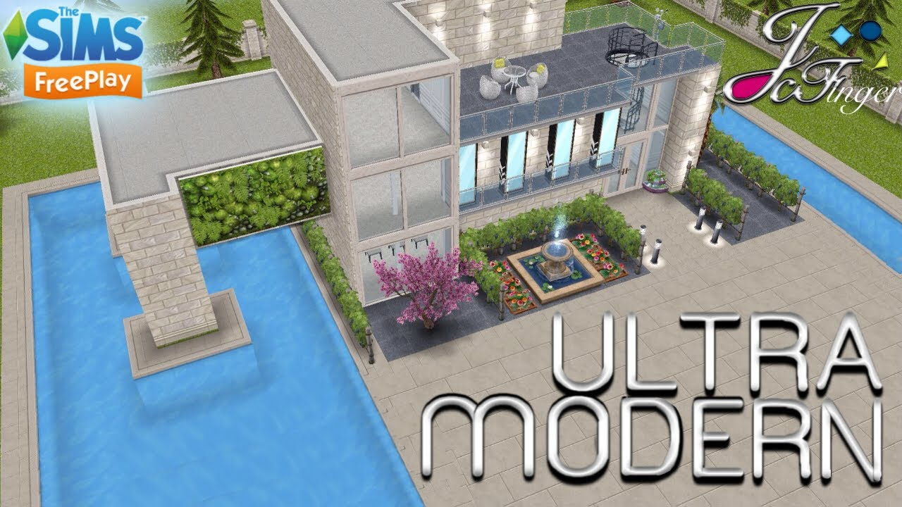 Sims Freeplay House Design Ideas.The Sims Freeplay Ultra Modern Mansion