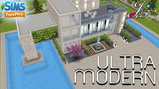 The Sims FreePlay 🏬 ULTRA MODERN MANSION 🏬 YouTube