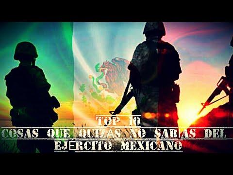 TOP 10 Cosas Qué Quizás No Sabias Del Ejército Mexicano 🇲🇽 (Vid.16)