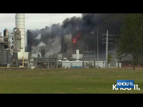 Download Secondary explosion at TPC plant in Port Neches