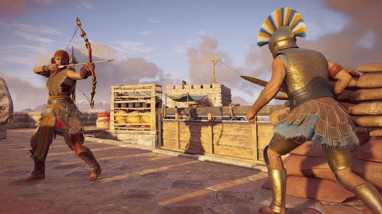 Assassin S Creed Odyssey Master Artemis Set Hunter Assassin