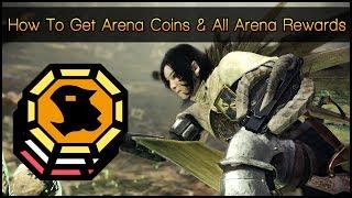 Monster Hunter World ▼ How To Get Arena Coins & All Arena Rewards