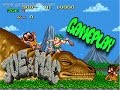 Super Nintendo Boxed Collection No  107: Joe & Mac Caveman Ninja Gameplay