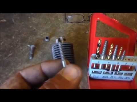 Screw Extractor Easy Out Broken Bolt Removal the Easy Way
