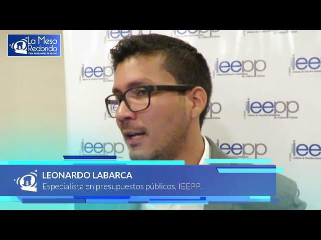 La Mesa Redonda   Presupuesto Publico IEEPP2