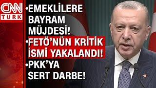 FETÖ ve PKK'ya sert darbe! Emekli maaşları ne zaman hesaba yatacak? Cumhurbaşkanı Erdoğan açıkladı