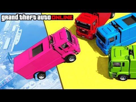 GTA 5: Online - Epic Cargo Plane Stunt &...