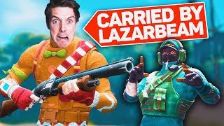 LazarBeam tries to carry me..