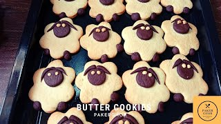 Shaun the sheep cookie  How to make butter cookies  Sugar cookie   #Cookies