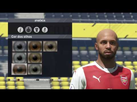 CALIOPE TV | FIFA 17 - PRO CLUBS | FACE TUTORIAL - THIERRY HENRY