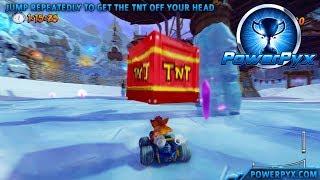 Crash Team Racing Nitro-Fueled - Get Off Me! Trophy / Achievement Guide