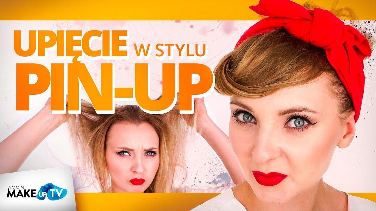 Jak Zrobić Fryzurę W Stylu Pin Up Girl Pokazuje Karolina Youtube