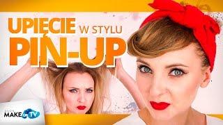 Jak zrobić fryzurę w stylu pin-up girl - pokazuje Karolina