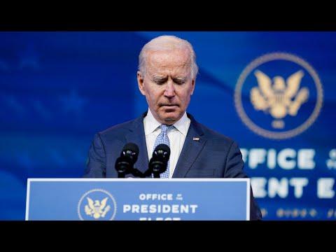 President-elect Biden speaks: 'It's not a protest, it is insurrection'   U.S. Election