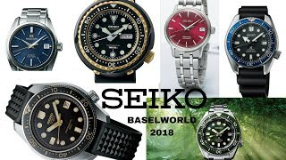 New Seiko Watches At Baselworld 2018 - Prices Are Going Up