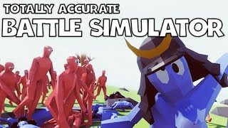 OP-Maschinengewehr! | TOTALLY ACCURATE BATTLE SIMULATOR