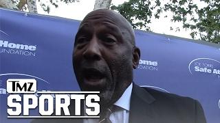 James Worthy Fires Back at Kevin Durant After KD Trashed Him | TMZ Sports