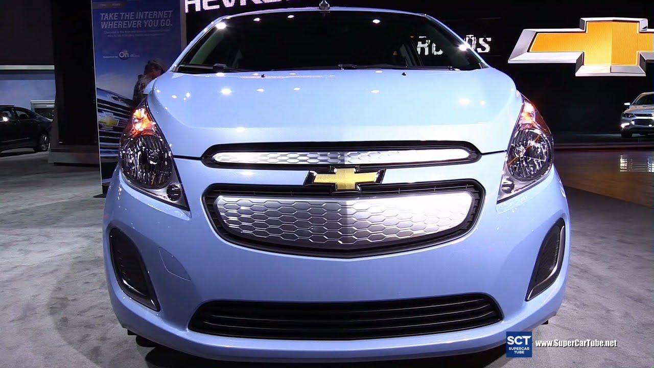 2016 Chevrolet Spark EV Exterior and Interior Walkaround 2015 LA