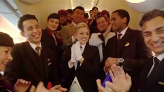 Special guest in The Residence | Inaugural A380 flight to Paris | Etihad Airways