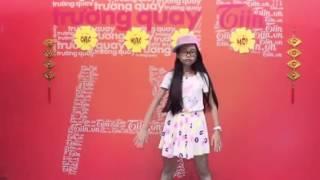 Phương Mỹ Chi nhảy Sexy Love tại Trường quay tiin