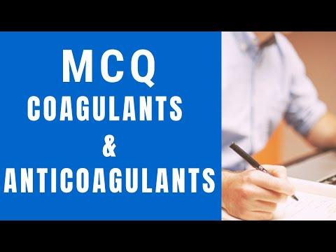 MCQ, coagulants and
