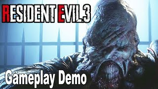 Resident Evil 3 Remake - Gameplay Demo No Commentary [HD 1080P]