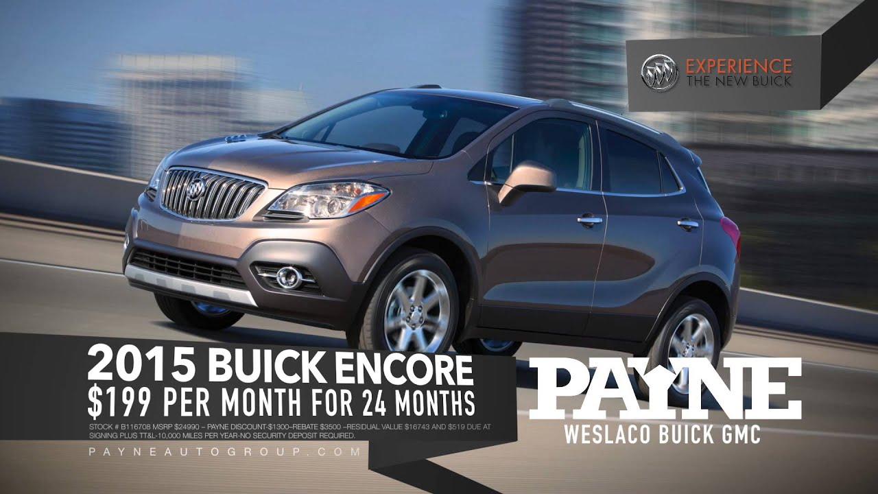 Encore Mo Payne Buick GMC Weslaco Texas YouTube - Payne buick gmc