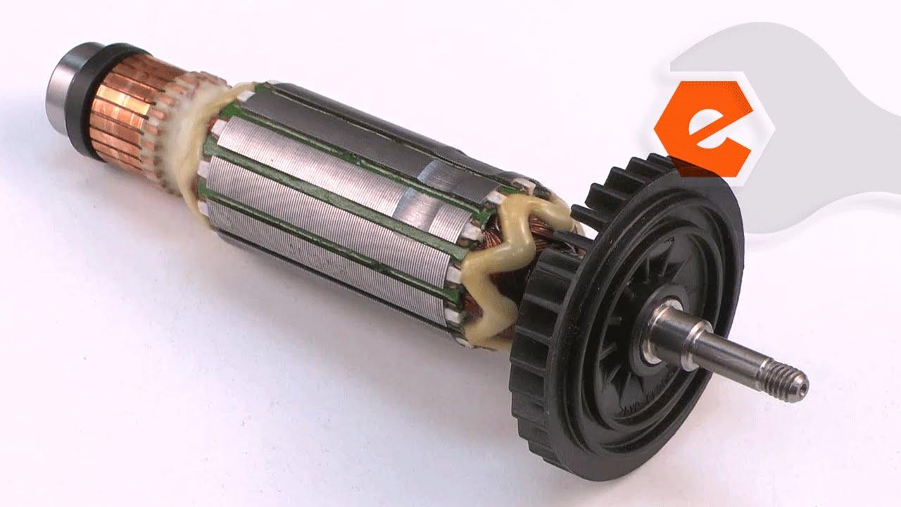 Grinder Repair Replacing The Armature Makita Part