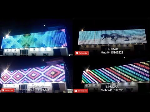 !!PIXEL LED WALL!! 2018  80ft x16ft  S.KUMAR ELECTRONIC LUCKNOW
