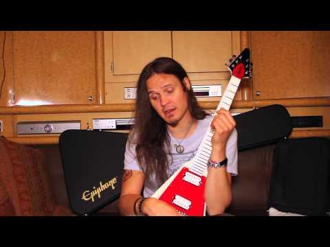 Dave Rude: One Of A Kind - Tesla Guitarist Gets a Unique Epiphone Flying-V