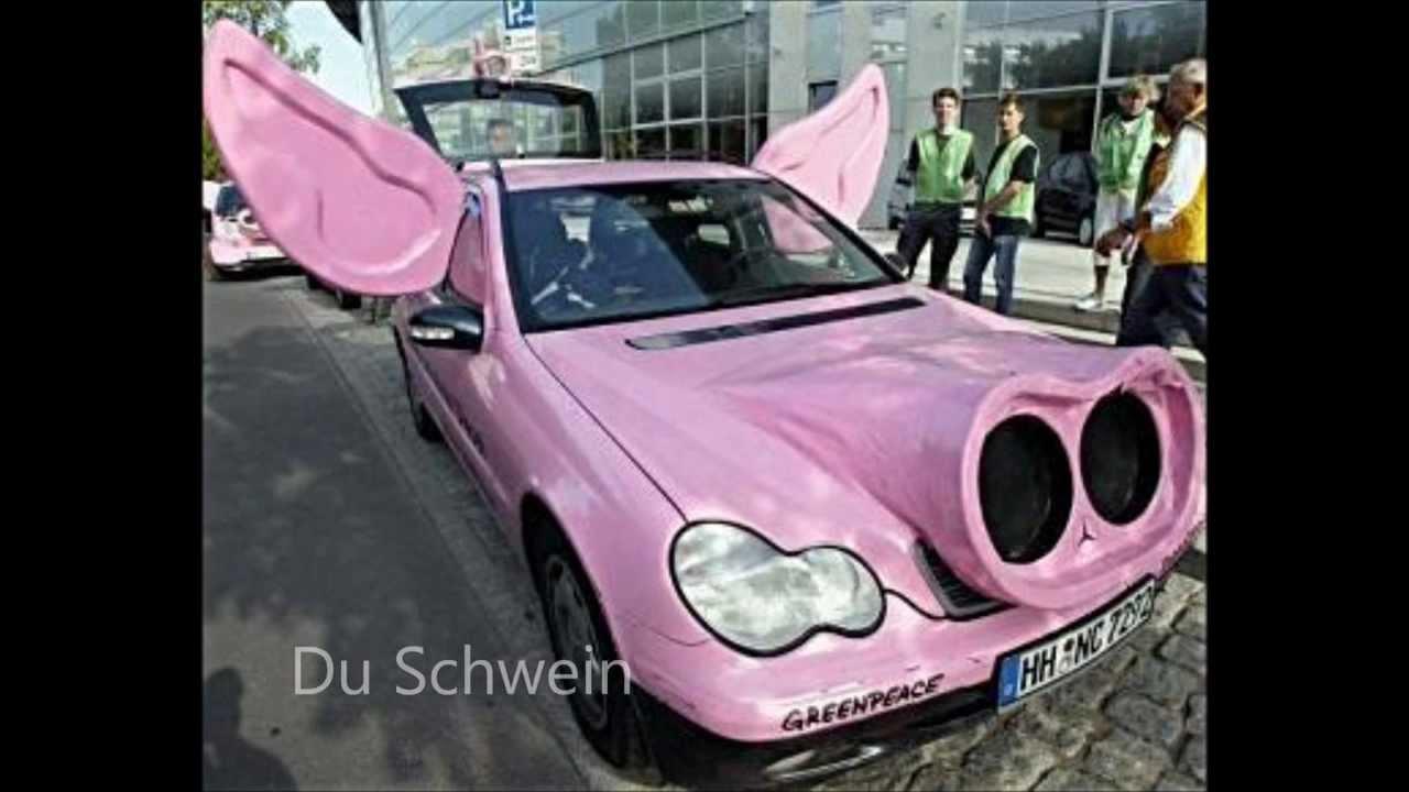 Lustige Autos