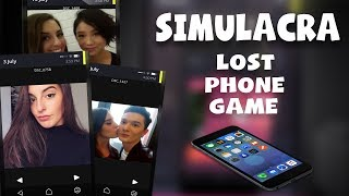 I'M CAUGHT UP IN THE CREEPIEST & MOST DISTURBING LOVE TRIANGLE | SIMULACRA (Scary Lost Phone Game)