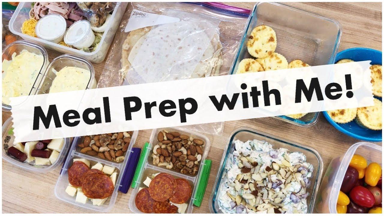 Weekly Meal Prep! Freezer Lasagna, Egg Salad, Chicken ...