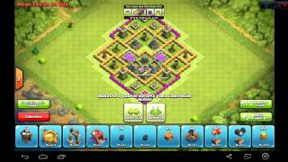 speed building village hdv 7 farming trés efficasse !!!!!!!!