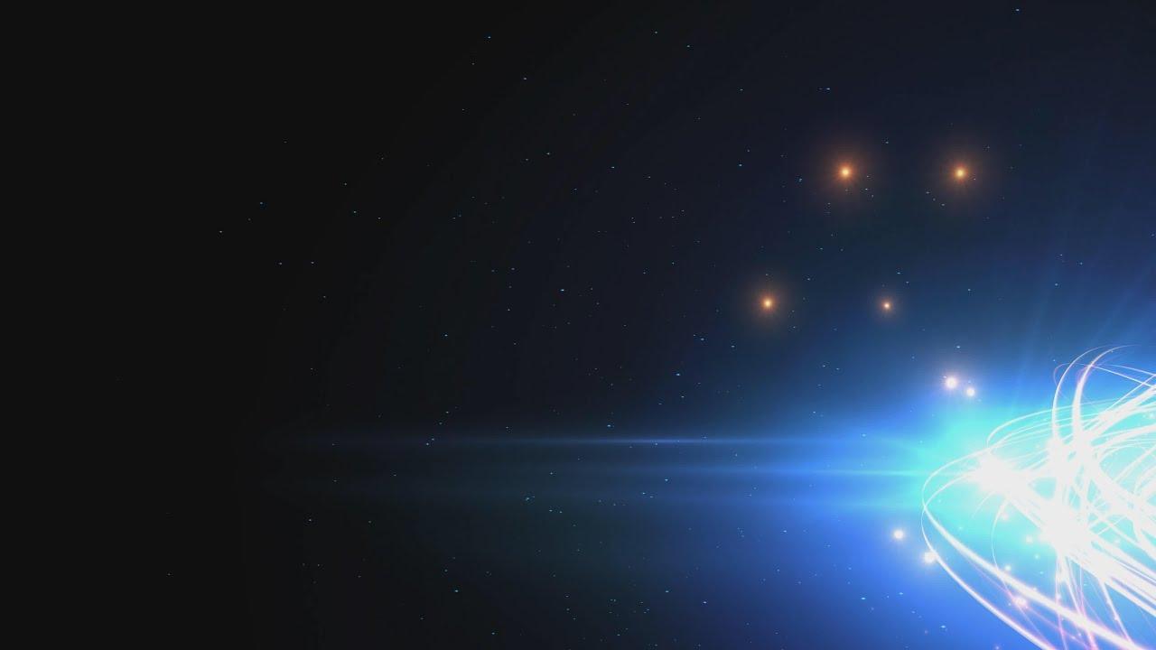 60FPS Dark Blue Glow Motion HD Background Animation 4K 2160p AA VFX