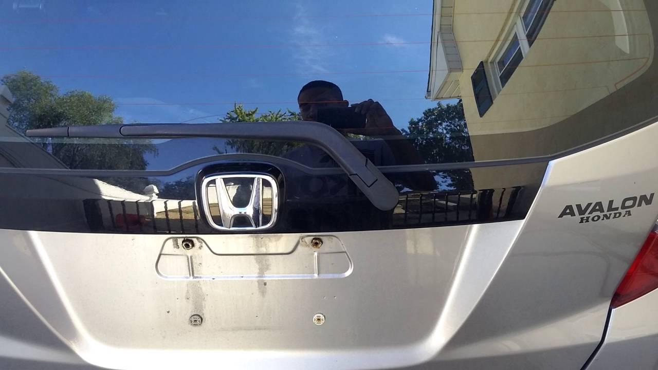 Honda Fit Stuck Rear Door Trunk Hatch Pt 2 Youtube
