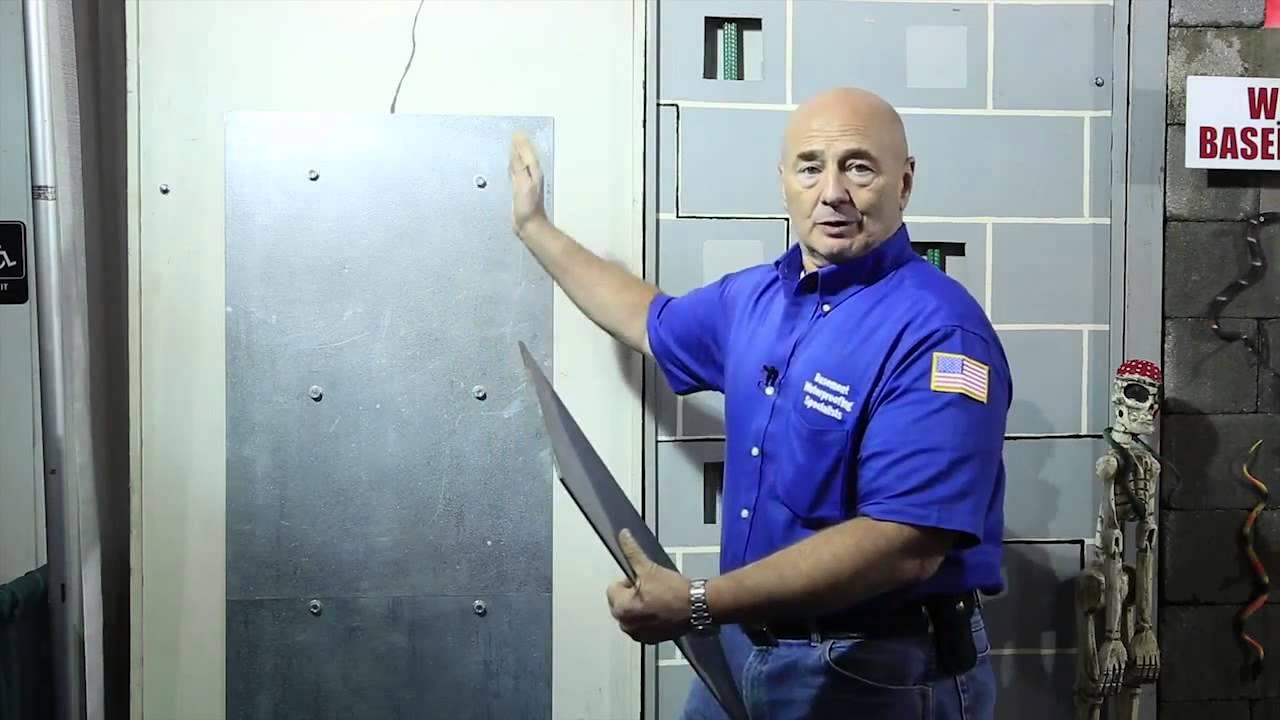 Steel Plate Foundation Repair   Basement Waterproofing Specialists