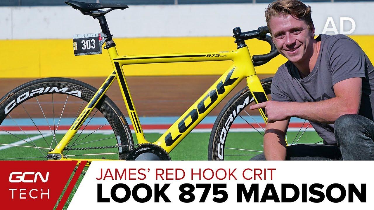 b96c902e4 James  Red Hook Crit LOOK 875 Madison Track Bike - YouTube