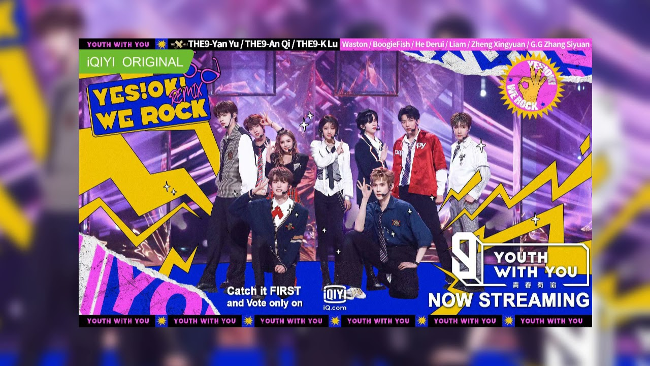"""Download Collab Stage: Team THE9 - """"Yes! OK! Remix We Rock"""" 