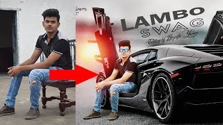 How to Change Background in Photoshop 7.0 in Hindi / Urdu