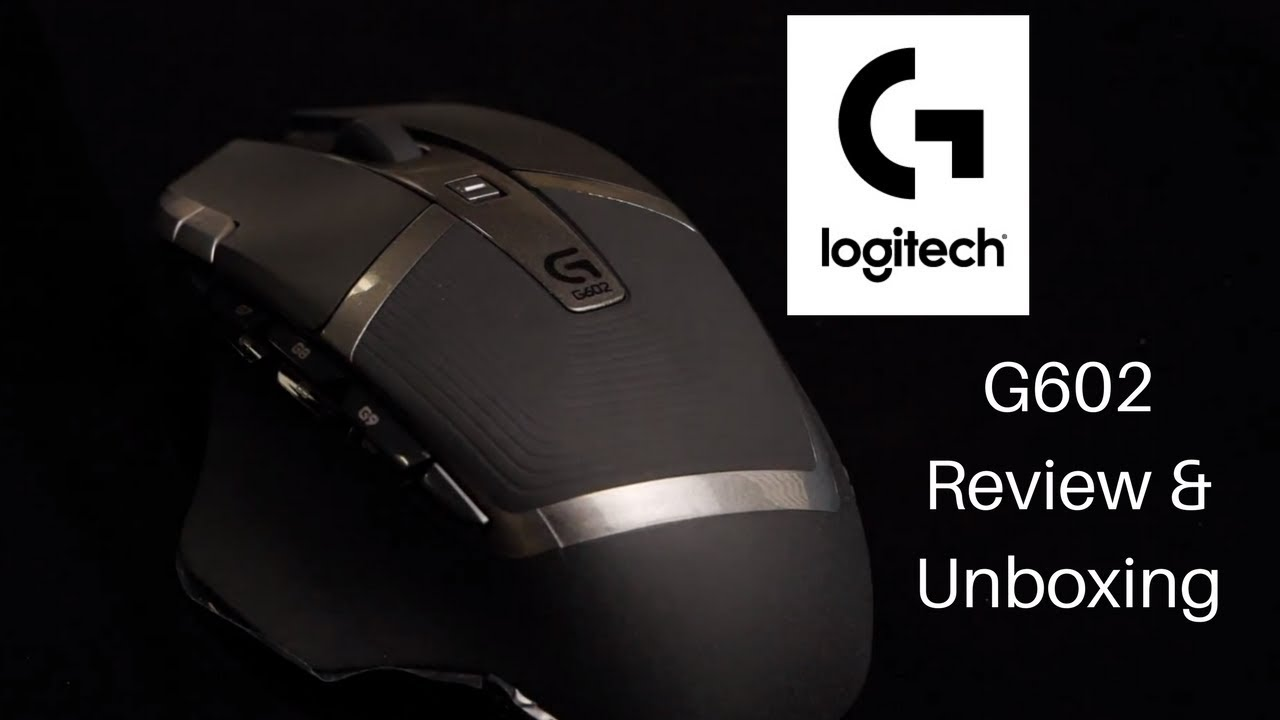 Logitech G602 Wireless Gaming Mouse Unboxing & Review