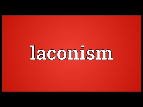 Header of laconism