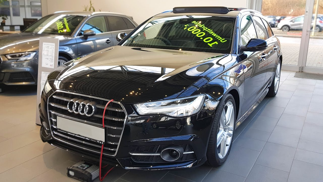 2018 Audi A6 Avant 20 Tdi Ultra S Tronic Audiview Youtube
