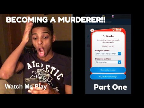 Watch Me Play (BitLife) - CREATING A KILLER!! (Part 1)   Will I Succeed in the Criminal Underworld?!