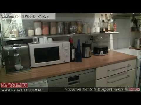 Paris, France - Video tour of a vacation rental on Rue Saint Antoine (Le Marais)