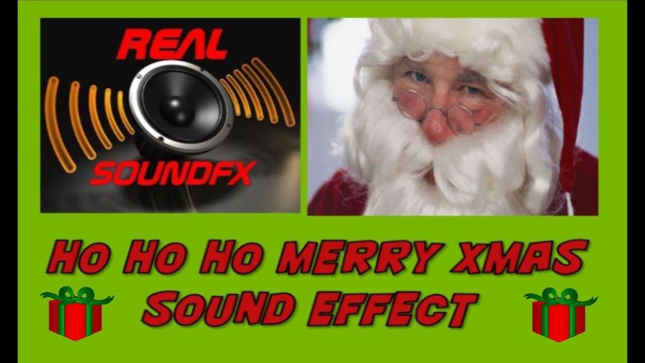 ho ho ho merry christmas santa claus sound effect 2 realsoundfx youtube - Santa Hohoho 2