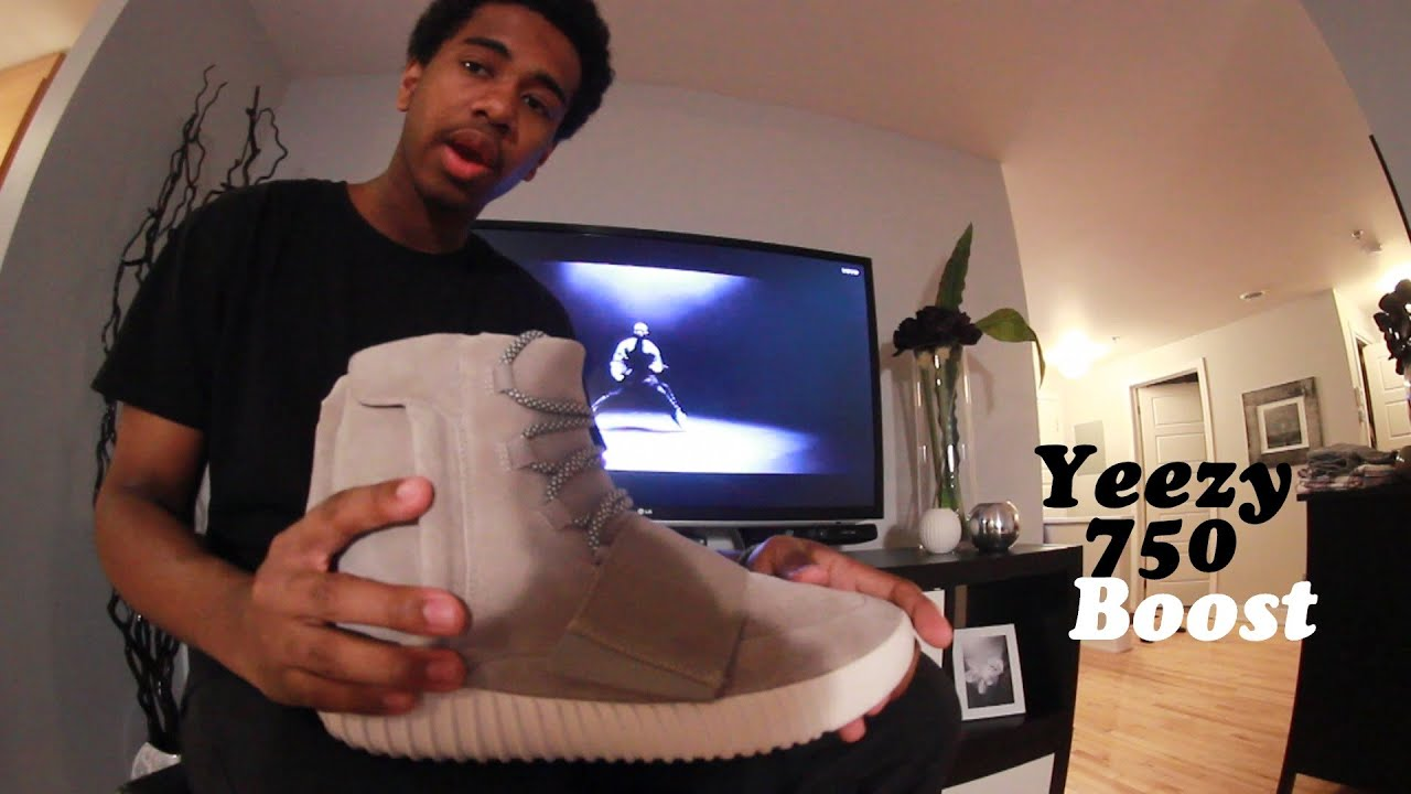 f46fa5a9714 Adidas x Kanye West - Yeezy 750 boost / Story + Review & On Feet! - YouTube